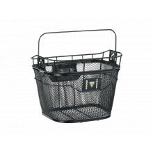 Basket Front, with Fixer3, Black by Topeak