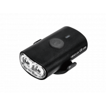 HeadLux 450 USB, 450 lumens, USB rechargeable light, aluminum body, Black