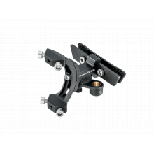 Tri-BackUp ELITE, AL rear hydration multi mount on saddle V rail section, multi angle adjustment, including one Micro AirBooster & 2pcs 16g CO2 cartridge, for triathlon saddles with vertical rails by Topeak in Squamish BC