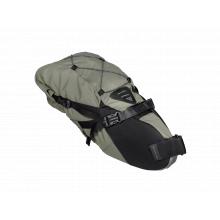 BackLoader, seat post mount bikepacking bag, 15 Liter, Green color w/Gray logo by Topeak