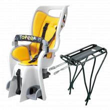"BabySeat II w/non-disc mount rack, for 26"" wheel, Yellow color pad"