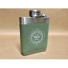 TBC Logo Stainless flask 8oz