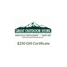 Great Outdoor Store $250 Gift Certificate