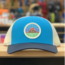 GOPC LOWPRO WOVEN PATCH HAT TEAL TRI by Great Outdoor Provision Co