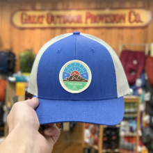 GOPC LOWPRO WOVEN PATCH HAT ROYAL BLUE by Great Outdoor Provision Co