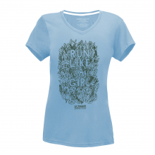 Women's Run Like A Girl Tee by Ultimate Direction in Colorado Springs CO
