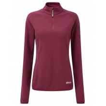Women's Dikila Zip Tee by Sherpa Adventure Gear in Asheville Nc