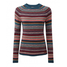 Women's Paro Crew Sweater by Sherpa Adventure Gear in Flagstaff Az