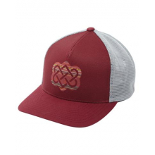 Endless Knot Trucker Hat by Sherpa Adventure Gear in Concord Ca