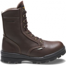 """DuraShocks Steel-Toe Waterproof EH 8"""" Work Boot by Wolverine"""