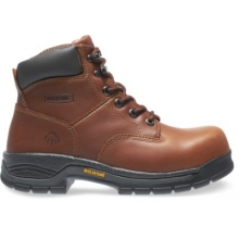 "Harrison Lace-Up Steel-Toe EH 6"" Work Boot by Wolverine in Hope Ar"