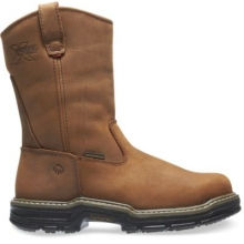 Marauder Waterproof Steel-Toe EH Wellington Work Boot by Wolverine in Hope Ar