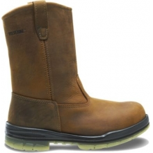 "DuraShocks® Steel-Toe Insulated Waterproof 10"" Wellington Work Boot by Wolverine in Hope Ar"