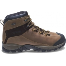 Black Ledge LX Waterproof Leather Steel-Toe Mid-Cut Hiking Boot by Wolverine in Hope Ar