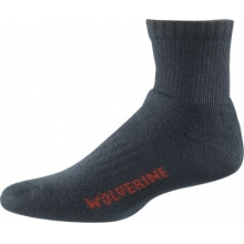 2-pk. Steel Toe Cotton Quarter Sock
