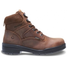 "DuraShocks Slip Resistant 6"" Work Boot by Wolverine in Hope Ar"