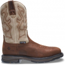 "Lariat Waterproof Square-Toe Wellington 10"" Steel-Toe Boot by Wolverine in Hope Ar"
