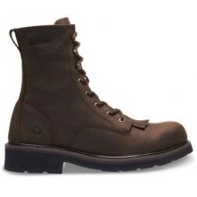 """Ranchero 8"""" Kiltie Steel Toe Boot by Wolverine in Hope Ar"""