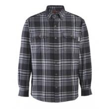 Glacier Heavyweight Long Sleeve Flannel Shirt (Big & Tall)