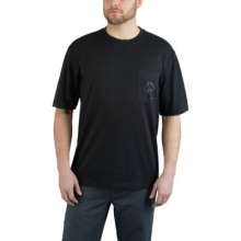 Men's Short Sleeve Graphic Pocket Tee - Claw Graphic by Wolverine