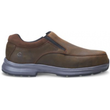 Logan Steel Toe Slip On Shoe