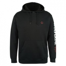 Graphic Hoody- Distressed Logo by Wolverine