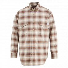 Men's FR Plaid Long Sleeve Twill Shirt by Wolverine