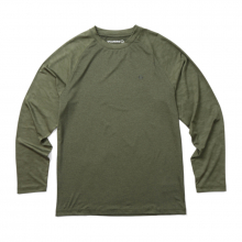Men's Sun Stop Long Sleeve Crew by Wolverine