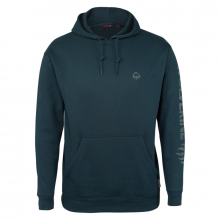 Men's Graphic Hoody- Distressed Logo by Wolverine