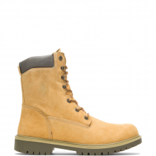 """Men's Gold Waterproof Insulated 8"""" Work Boot by Wolverine"""