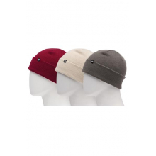 Men's Standard Roll Up Beanie (3-Pack)