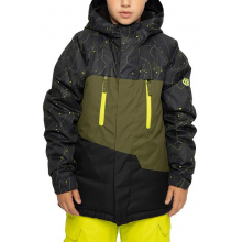 Youth Boys Geo Insulated Jacket by 686 in Bakersfield CA