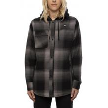 Women's Sherpa lined Flannel Jacket