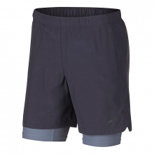 Nike Men's Challenger 2-in-1 7 Perforated Short by Nike
