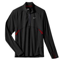 Nike Men's Distance Sphere Long Sleeve Half Zip by Nike