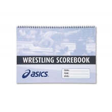 Wrestling Scorebook by ASICS in Mystic Ct