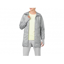 Womens Long Jacket by ASICS in Mystic Ct