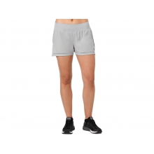 Womens Lite-Show 3.5IN Short by ASICS in Mystic Ct