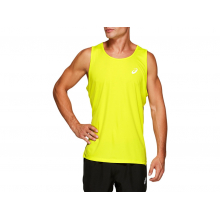 Men's Silver Singlet by ASICS
