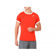 Men's Club SS Top by ASICS in Mystic Ct