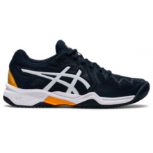 Kid's Gel-Resolution 8 Clay Gs by ASICS in Knoxville TN
