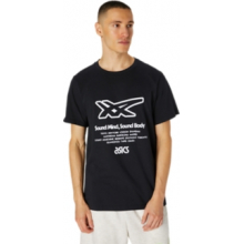 Men's Stripe Graphic Ss Tee by ASICS