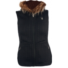 Spyder Womens Major Cable Core Sweater Vest