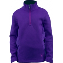 Spyder Girl's Valor Half Zip Mid WT Core Sweater by Spyder