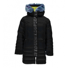 Girls' Glam Faux Fur Down Jacket by Spyder