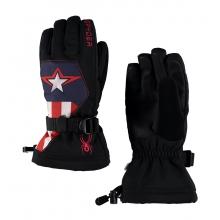 Boys' Marvel Overweb Ski Glove by Spyder in Avon Co