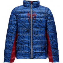 Boys' Marvel Prymo Synthetic Down Jacket by Spyder in Truckee Ca