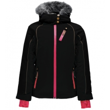 Girls' Posh Faux Fur Jacket by Spyder