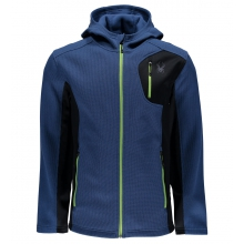 Men's Bandit Full Zip Hoody Lt Wt Stryke Jacket by Spyder
