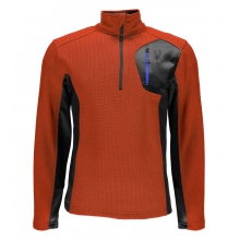 Men's Bandit Half Zip Lt Wt Stryke Jacket by Spyder